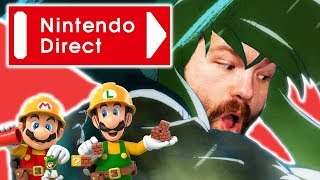 Nintendo Direct February 2019 Reactions! - TFS Gaming