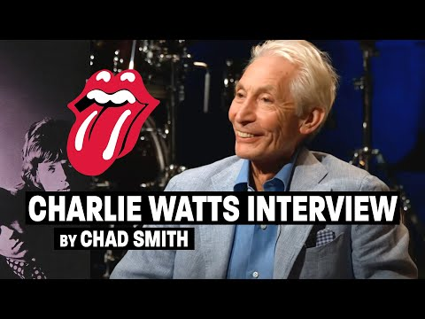 Chad Smith Interviewing Charlie Watts (Part 1)