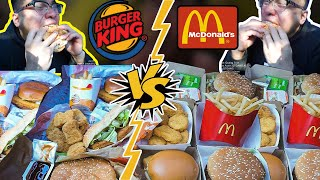 Mc Donalds VS Burger King - Which one better...?!