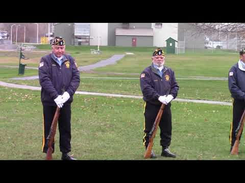 Veterans' Day in Rouses Point 11-11-20