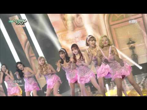 [kbs world] 뮤직뱅크 - 소녀시대, 오늘보다 내일 더 사랑스러워 'Lion Heart'.20150828