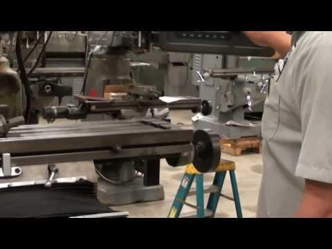 "SWI TRAK MODEL K4E 2-AXIS CNC KNEE MILL WITH PROTOTRAK EDGE CONTROL, 10"" X 50"""