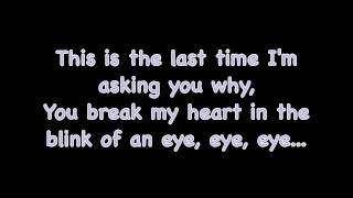 The Last Time - Taylor Swift (feat. Gary Lightbody) LYRICS