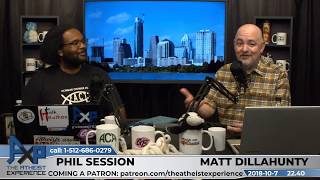 Atheist Experience 22.40 with Matt Dillahunty and Phil Session