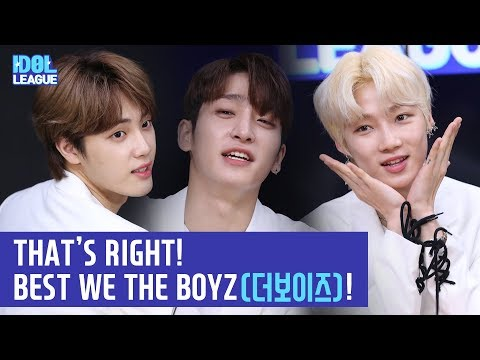 (ENG SUB) THAT'S RIGHT! BEST WE THE BOYZ(더보이즈)! - (1/3) [IDOL LEAGUE]