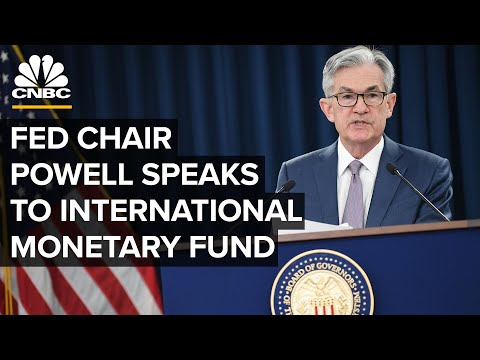 Fed Chairman Jerome Powell speaks to the International Monetary Fund — 10/19/2020