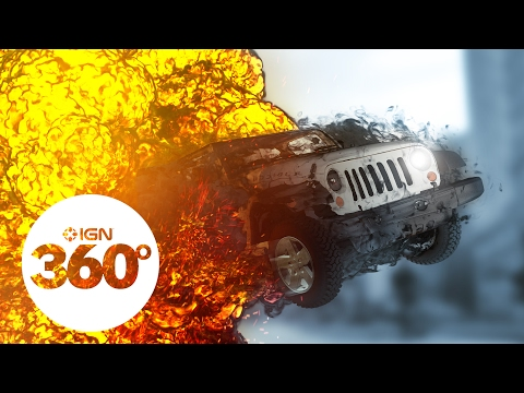 Augmented: Car Chase in 360 VR (Ep. 2) by @IGN