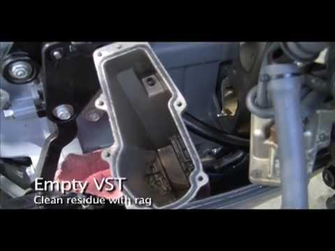 Yamaha F115 Fs Vst Filter Change Out Youtube