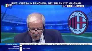 Juventus Milan 1-1 con Tiziano Crudeli