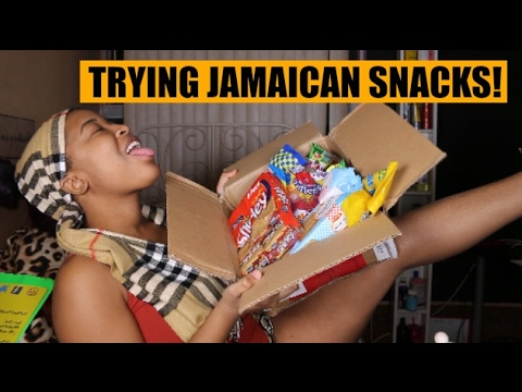 Trying JAMAICAN Treats | Canadian Tries Jamaican Treats | HEYPARIS