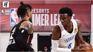 Portland Trail Blazers vs Oklahoma City Thunder - Full Highlights | July 11, 2019 NBA Summer League