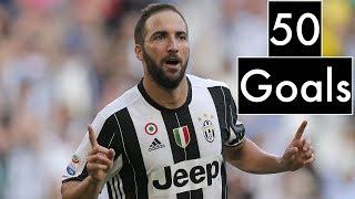 Gonzalo Higuain / 50 Goals for Juventus / 2016 - 2018