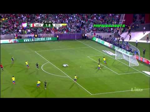 MEXICO 1:0 ECUADOR 2015 HIGHLIGHTS