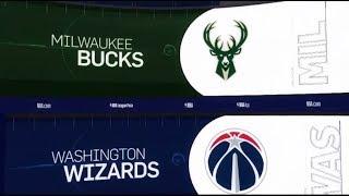 Milwaukee Bucks vs Washington Wizards Game Recap   1/11/19   NBA