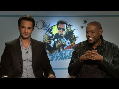 'The Last Stand' Forest Whitaker and Rodrigo Santoro Interview