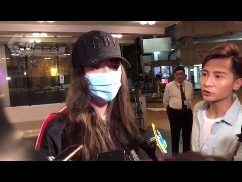 2019-07-21 任達華遇刺後回港住院第二天 太太琦琦探完病講述最新情況