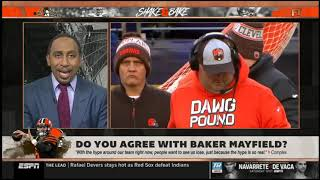 Stephen A. & Max Kellerman SURPRISED Do you agree with Baker Mayfield?   FIRST TAKE 8/15/2019