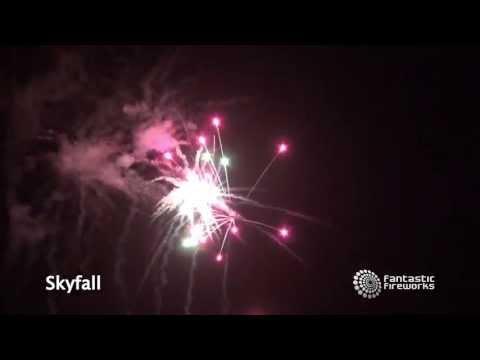 Fantastic Fireworks Skyfall - 66 Shot Barrage Firework