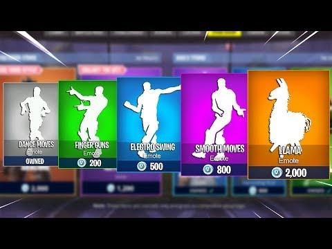 Evolution of Dances in Fortnite Battle Royale! (Season 1 - Season 6)
