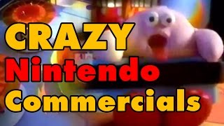 10 CRAZY Nintendo Commercials