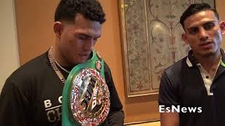 David Benavidez Talks About Sparring GGG & Pavlik Out Of Shape  EsNews Boxing