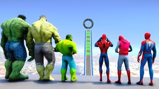 HULK Army VS SpiderMan Suits - PS4 SpiderMan, Homemade Suit Spider-Man, The Sensational Spider Man