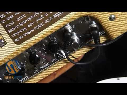 fender 39 59 bassman reissue ltd bassist plays guitar through a real guitarist 39 s bass amp youtube. Black Bedroom Furniture Sets. Home Design Ideas