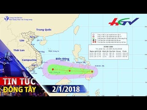 Biển Đông sắp đón cơn bão đầu tiên năm 2018   TIN TỨC ĐÔNG TÂY - 2/1/2018
