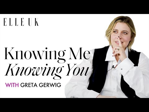 Greta Gerwig on Her Little Women Cast | Knowing Me Knowing You