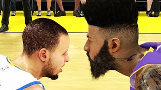 NBA 2k15 MyCAREER Gameplay S2 - REAL MVP Neal Bridges With The Shot! vs Steph Curry