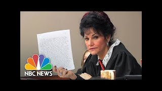 Judge Rosemarie Aquilina Slams Larry Nassar's Letter About Sentencing   NBC News