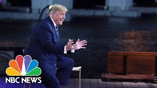 Trump: 'I Don't Know' if I Was Tested For Covid Before The Debate | NBC News
