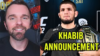 REACTION: Khabib Nurmagomedov NOT officially retired