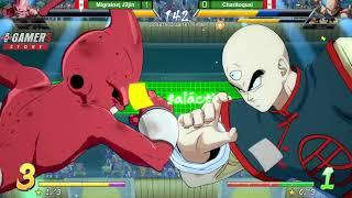 Migraine|J2jin(Kidbuu, Cell, Bardock) vs Charitoquai(Piccolo, Yamcha, Ten) - Quarter-Final Losers - YouTube