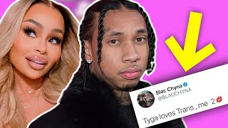 """Blac Chyna Exposes Tyga & Says He """"Loves Trans"""" - After Sada Baby Outs Him!"""