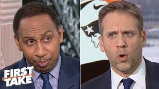 Stephen A. tells Max Kellerman to apologize to Tom Brady | First Take