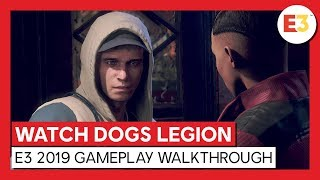 Watch Dogs Legion gameplay E3 Trailer
