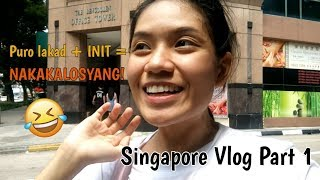 Singapore Vlog Part 1 ♡ (Summerview Hotel + exploring Bugis) | Patsy Boo