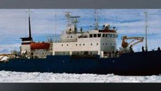 Cruise ship stuck in Antarctica ice over holiday