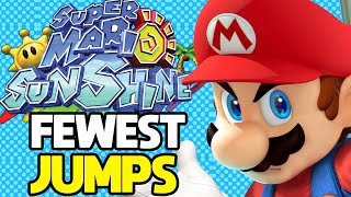 What is the Least Jumps Required to Beat Super Mario Sunshine?
