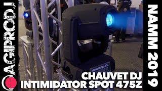 CHAUVET DJ INTIMIDATOR SPOT 475Z in action