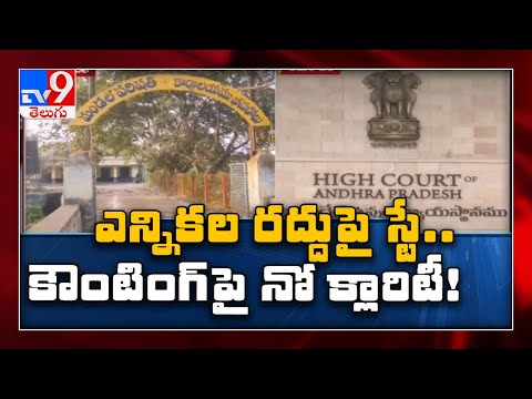 AP High Court division bench stays single judge order on ZPTC, MPTC elections