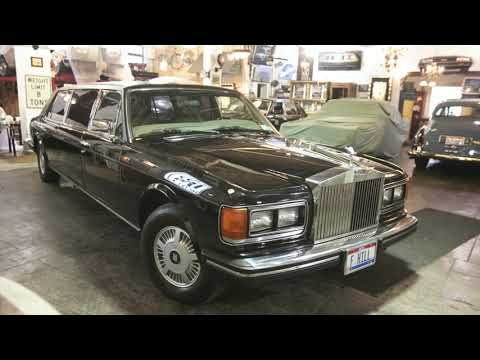 video 1985 Rolls-Royce Silver Spur Limousine by Jankel