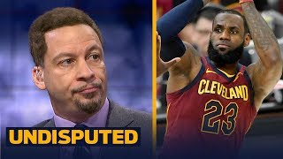 Chris Broussard on LeBron leading Cleveland to comeback win over Toronto | UNDISPUTED