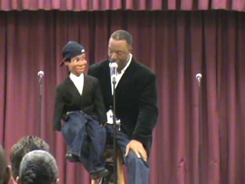 Comedian Ventriloquist Willie Brown and Woody at Gospelvision ...