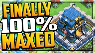 MAXED IT ALL in Clash of Clans Town Hall 12 -  Clan War League in CoC!