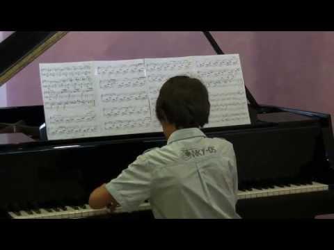 David Cabañas piano - Mendelssohn Romanza sin Palabras en Fa M Op. 85 No. 1