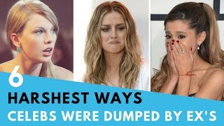 6 Harshest Ways Celebs Have Been Dumped By Exes! | Hollywire