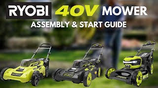 "Video: 40V 20"" BRUSHLESS Push Mower with 6.0AH Battery & Charger"