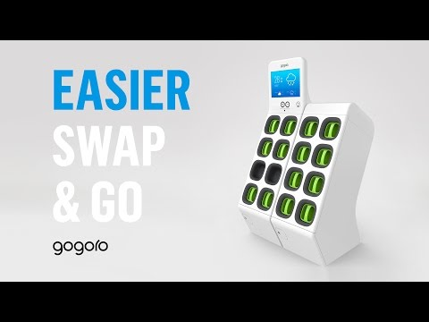 Gogoro GoStation™ & Battery Pack - Swap And Go